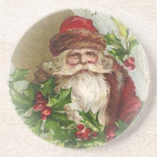 De vintage Onderzetters van Kerstmis van de