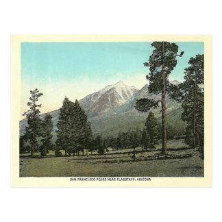 De vintage Pieken van San Francisco Briefkaart