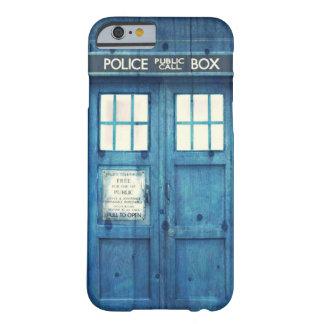 De vintage Politie telefoneert Openbare Barely There iPhone 6 Hoesje