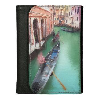 De vintage Portefeuille van Venetië Portemonnee