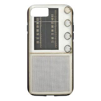De vintage Radio van het Metaal iPhone 8/7 Hoesje