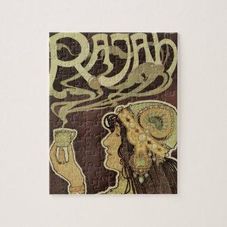 De vintage Radja van de Koffie van de Jugendstil, Puzzel