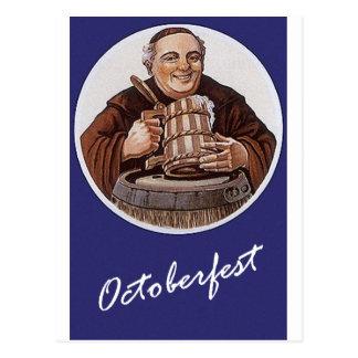 De Vintage Reis Duits Beieren Octberfest van het Briefkaart
