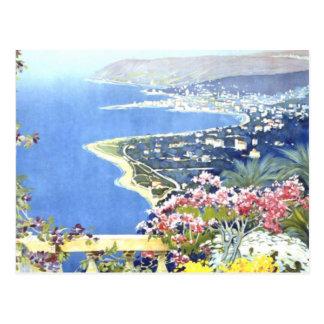 De vintage Reis van San Remo Italië Europa Briefkaart