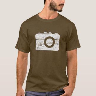 De vintage Retro T-shirt van de Camera