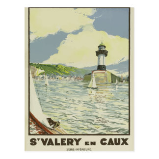 De vintage retro Zegen van Frankrijk van het Briefkaart