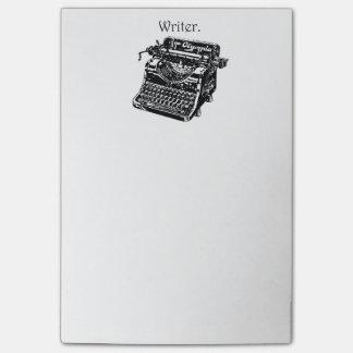 De vintage Schets van de Tekening van de Inkt van Post-it® Notes