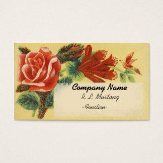 De vintage sjabloon van het Visitekaartje van Visitekaartjes
