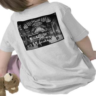De Vintage Spoorweg van de Stad van New York van T Shirt
