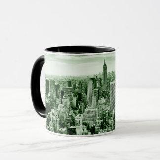 De vintage Stad van New York Mok