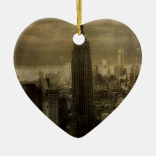 De vintage Stad van New York Ornamenten