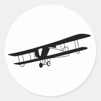 De vintage Stickers van het Vliegtuig
