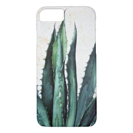 De vintage succulente woestijn van de het iPhone 7 hoesje