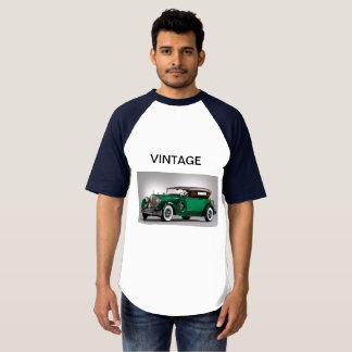 De vintage T-shirt van de Auto
