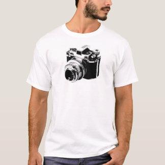 De vintage T-shirt van de Camera