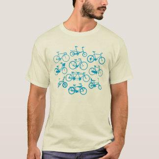 De vintage T-shirt van de Fiets