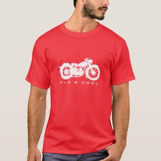 De vintage T-shirt van de Motorfiets