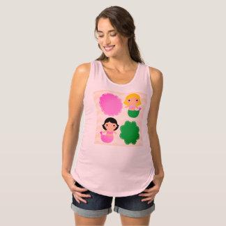 De vintage t-shirt van ontwerpers voor Zwangere