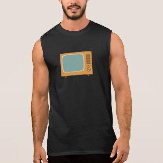De vintage Televisie van de Kleur T Shirt