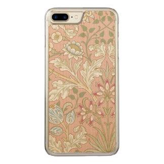 De vintage TextielHyacint GalleryHD van William Carved iPhone 8 Plus / 7 Plus Hoesje