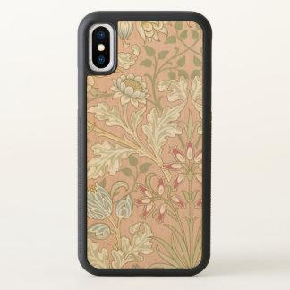 De vintage TextielHyacint GalleryHD van William iPhone X Hoesjes 0