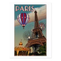 De vintage Toren van Eiffel