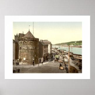 De vintage Toren Waterford van Ierland Reginalds Poster