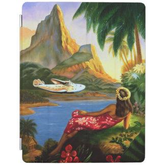 De vintage Tropische Hawaiiaanse Palm van het iPad Cover