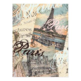 De vintage typografie van briefkaart