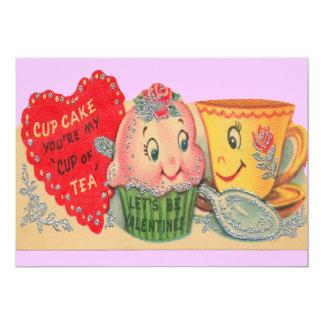 De vintage Uitnodigingen van Valentijn