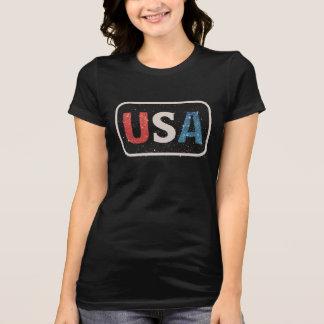 De vintage V.S. de Verenigde Staten van Amerika T Shirt