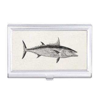 De vintage Vissen van de Boniter - de Aquatische Visitekaarthouder