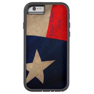 De vintage Vlag van Texas Tough Xtreme iPhone 6 Hoesje