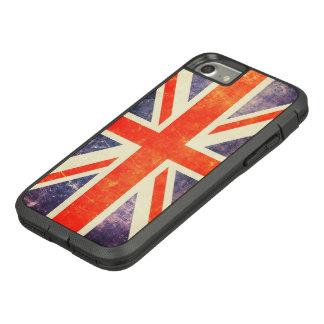 De vintage vlag van Union Jack Case-Mate Tough Extreme iPhone 7 Hoesje