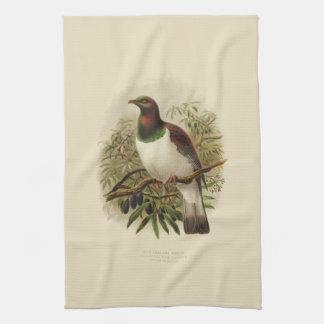 De vintage Vogels van de Wetenschap NZ - Theedoek