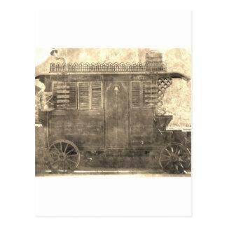 De vintage Wagen van de Zigeuner Briefkaart
