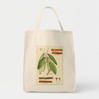 De vintage zak van het de kruidenierswinkelsbolsa boodschappen draagtas