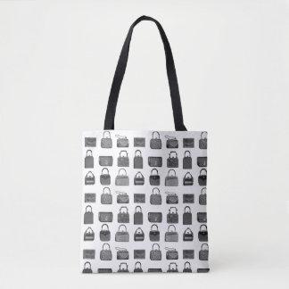 De vintage zak van het het patroonbolsa van de draagtas