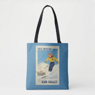 De vintage zakken van Idaho de V.S. van de Vallei Draagtas