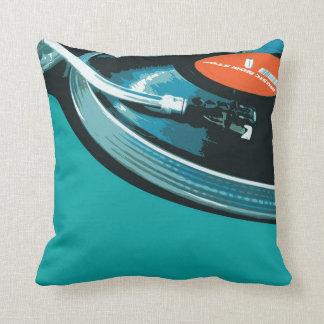 De vinyl Draaischijf van de Muziek Sierkussen
