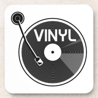 De vinyl Draaischijf van het Verslag Onderzetter