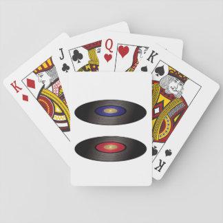 De vinyl Speelkaarten van Verslagen