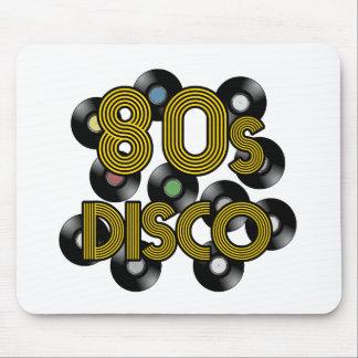 de vinylverslagen van de de jaren '80disco muismat