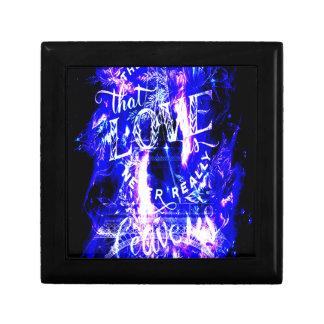 De violetkleurige Saffier Parijs droomt Degenen Decoratiedoosje