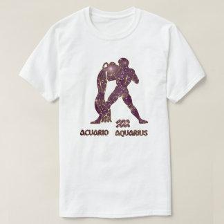 De Violetkleurige van de Dierenriem van Waterman T Shirt