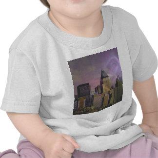 De violette droom van New York T Shirts