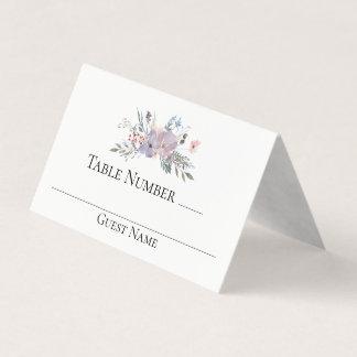 De violette Lijst van het Huwelijk van de Plaatskaart