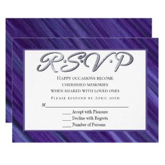 De violette Lila Penseelstreken van de | Paarse Kaart