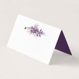 De violette Paarse Wildflowers van de Lavendel Plaatskaart