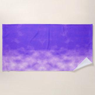 De violette Paarse Wolken van Hemelen Strandlaken